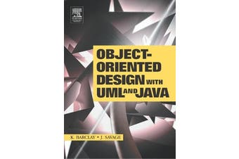 Object-Oriented Design with UML and JAVA - Science Book Aus Stock