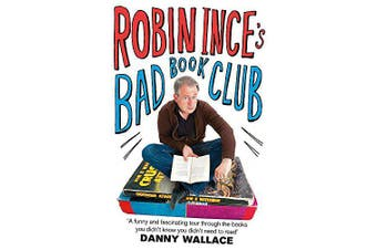 Robin Ince's Bad Book Club Humour Book Aus Stock
