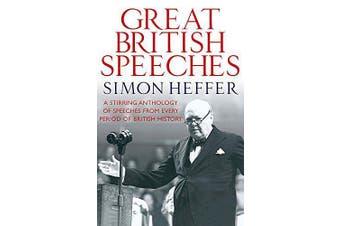 Great British Speeches History Book Aus Stock
