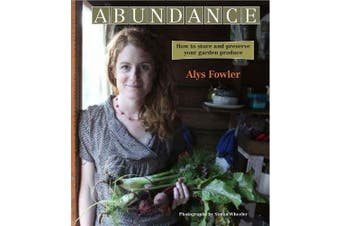 Abundance -Alys Fowler Cooking Book Aus Stock