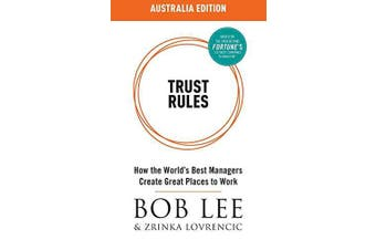 Trust Rules: Australia Edition -Bob Lee,Zrinka Lovrencic Languages Book