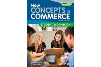 New Concepts in Commerce -Sennia Stahl,Stephen J. Chapman Business Book