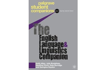 The English Language and Linguistics Companion Language Arts Book Aus Stock