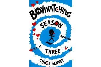 Boywatching Season Three -Chloe Bennet Fiction Book Aus Stock