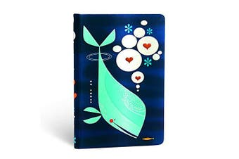 T Walker, Whale and, Mini, Unl -Paperblanks General Book Aus Stock