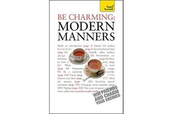 Be Charming: Modern Manners Cooking Book Aus Stock