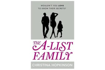 The A-List Family -Christina Hopkinson General Book Aus Stock