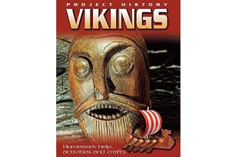 Project History: The Vikings (Project History) -Hewitt, Sally History Book