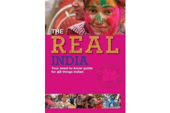 The Real: India (The Real) -Sunny Chopra Languages Book Aus Stock