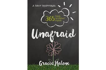 Unafraid: 365 Days Without Fear -Malone, Gracie Religion Book Aus Stock
