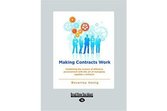 Making Contracts Work Business Book Aus Stock