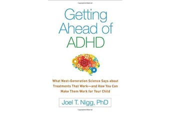 Getting Ahead of ADHD Psychology Book Aus Stock