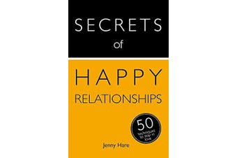 Secrets of Happy Relationships Health & Wellbeing Book Aus Stock