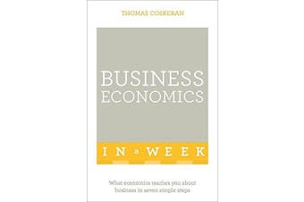 Business Economics In A Week Business Book Aus Stock