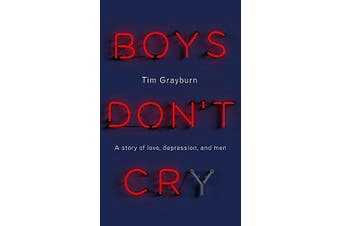 Boys Don't Cry Health & Wellbeing Book Aus Stock