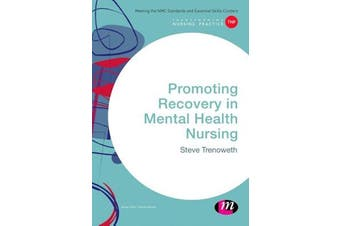 Promoting Recovery in Mental Health Nursing Science Book Aus Stock
