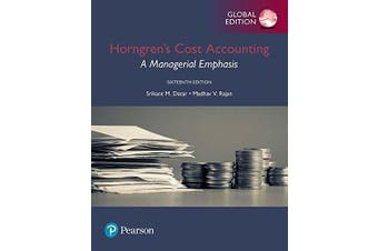 Horngren's Cost Accounting Business Book Aus Stock