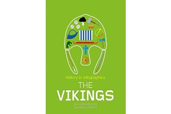 History in Infographics: Vikings (History in Infographics) - History Book
