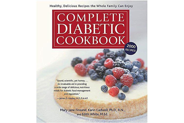 Complete Diabetic Cookbook Cooking Book Aus Stock