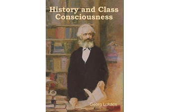 History and Class Consciousness -Georg Lukacs Philosophy Book Aus Stock