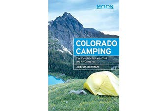 Moon Colorado Camping Travel Book Aus Stock