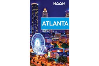 Moon Atlanta (Moon Handbooks) -Butler, Tray Travel Book Aus Stock