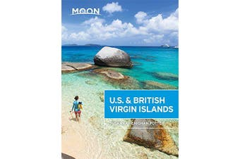 Moon U.S. & British Virgin Islands: Moon Handbooks - Travel Book Aus Stock