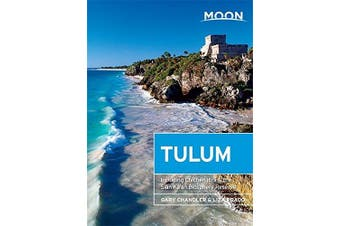 Moon Tulum Travel Book Aus Stock