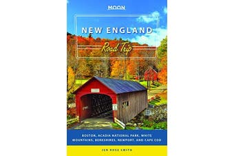 Moon New England Road Trip Travel Book Aus Stock