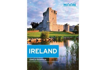 Moon Ireland 2nd Edition -Camille Deangelis Travel Book Aus Stock