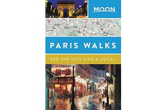 Moon Paris Walks -Moon Travel Guides Travel Book Aus Stock