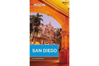 Moon San Diego: Fourth Edition -Ian Anderson Travel Book Aus Stock