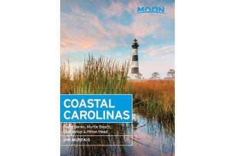 Moon Coastal Carolinas (Fourth Edition) Travel Book Aus Stock
