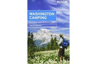 Moon Washington Camping (Fifth Edition) Travel Book Aus Stock