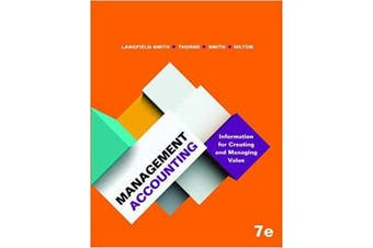 Management Accounting - General Book Aus Stock