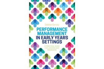 Performance Management in Early Years Settings Politics Book Aus Stock