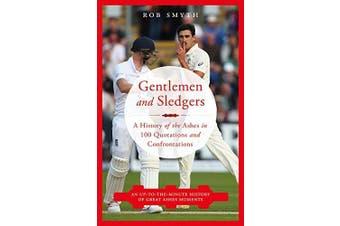 Gentlemen and Sledgers -Rob Smyth Sports & Recreation Book Aus Stock