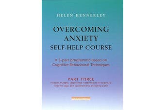 Overcoming Anxiety Self-Help Course Part 3 Psychology Book Aus Stock