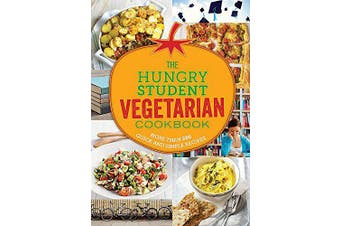 The Hungry Student Vegetarian Cookbook Cooking Book Aus Stock