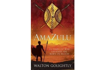 AmaZulu -Walton Golightly Fiction Book Aus Stock