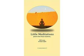 Little Meditations -Avinash Jalani Health & Wellbeing Book Aus Stock