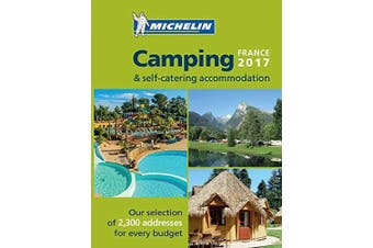 Camping Guide France: 2017 (Michelin Camping Guides) - Atlases Book Aus Stock