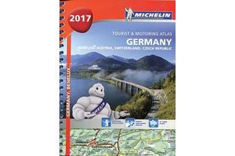 Germany/Austria Atlas 2017: Michelin Atlas -Michelin Atlases Book Aus Stock