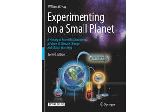 Experimenting on a Small Planet Science Book Aus Stock