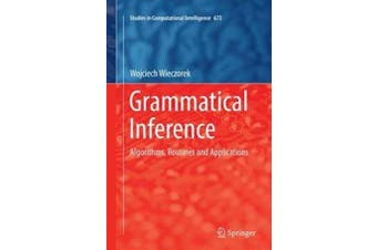 Grammatical Inference Technology & Engineering Book Aus Stock