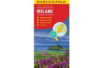 Ireland Map (Marco Polo Maps) -Marco Polo,Marco Polo Travel Travel Book