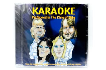 Karaoke Performed in the style of Abba BRAND NEW SEALED MUSIC ALBUM CD