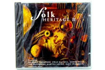Folk Heritage II BRAND NEW SEALED MUSIC ALBUM CD - AU STOCK