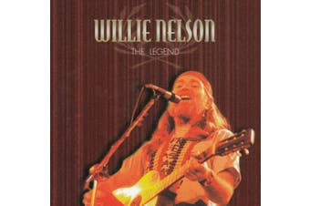 WILLIE NELSON : THE LEGEND 1984 BRAND NEW SEALED MUSIC ALBUM CD - AU STOCK