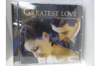 the Greatest Love BRAND NEW SEALED MUSIC ALBUM CD - AU STOCK